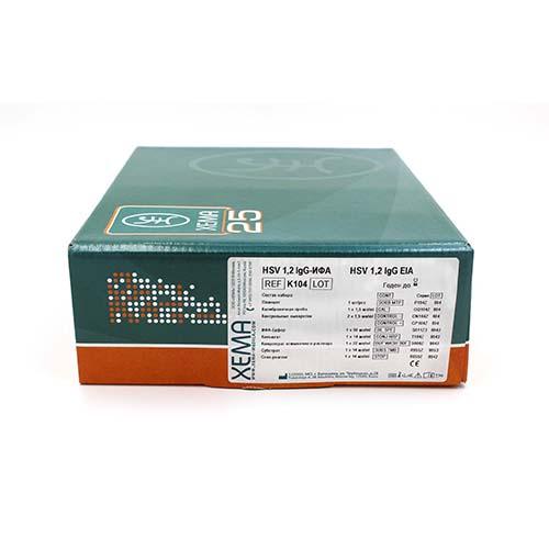 HSV 1,2 lgG EIA 1